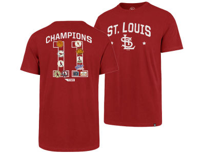 St. Louis Cardinals '47 MLB Men's Coop MVP Collection T-Shirt