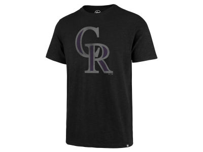 Colorado Rockies MLB Men's Scrum Logo T-Shirt