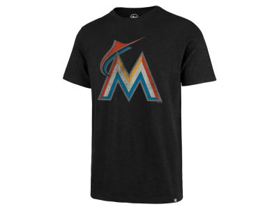 Miami Marlins MLB Men's Scrum Logo T-Shirt