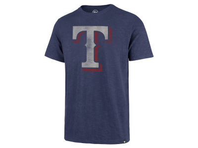 Texas Rangers '47 MLB Men's Scrum Logo T-Shirt
