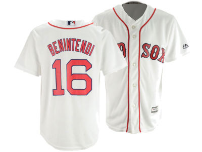 Boston Red Sox Andrew Benintendi Majestic MLB Youth Player Replica Cool Base Jersey