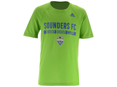 Seattle Sounders FC adidas MLS Youth Recovery Raglan T-shirt