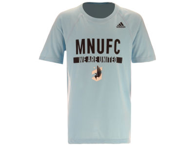 Minnesota United FC adidas MLS Youth Recovery Raglan T-shirt