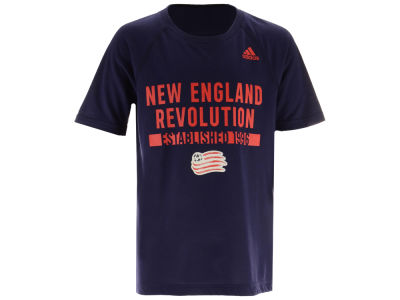 New England Revolution MLS Youth Recovery Raglan T-shirt