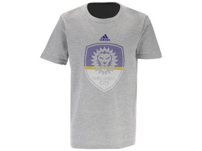 Orlando City SC adidas MLS Youth Shooting Accuracy T-Shirt