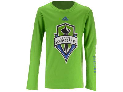 Seattle Sounders FC adidas MLS Youth Leave A Mark Long Sleeve T-shirt