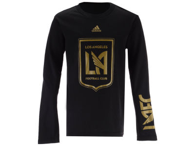 Los Angeles Football Club adidas MLS Youth Leave A Mark Long Sleeve T-shirt