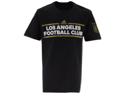 Los Angeles Football Club adidas MLS Youth Dassler T-Shirt