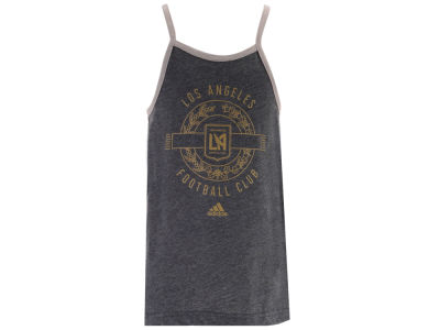 Los Angeles Football Club adidas MLS Youth Girls New Tank