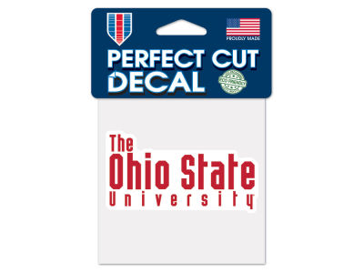 Ohio State Buckeyes Wincraft 4x4 Die Cut Decal