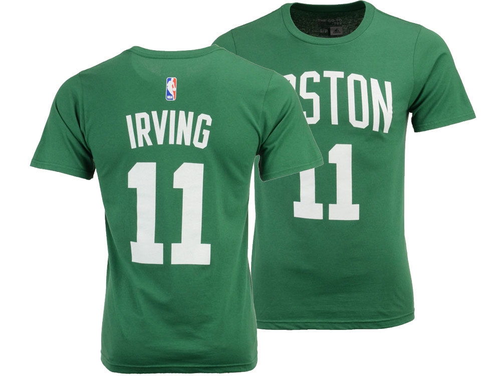 e537406081f Boston Celtics Kyrie Irving adidas NBA Men s Player T-Shirt