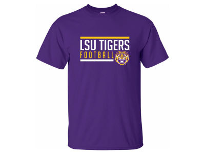 LSU Tigers 2 for $28  NCAA Men's Simple Line T-Shirt