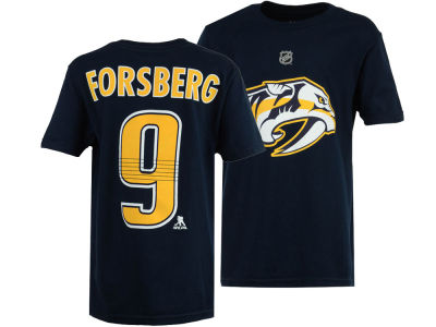 Nashville Predators Filip Forsberg Outerstuff NHL Youth Player T-Shirt
