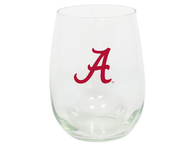 Alabama Crimson Tide Stemless Wine Glass