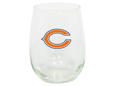 Chicago Bears Memory Company Stemless Wine Glass
