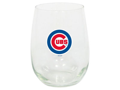 Chicago Cubs Memory Company Stemless Wine Glass