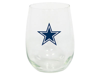 Dallas Cowboys Memory Company Stemless Wine Glass