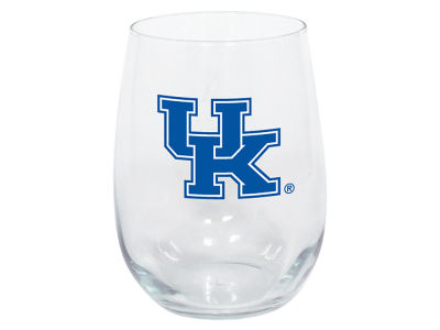 Kentucky Wildcats Memory Company Stemless Wine Glass