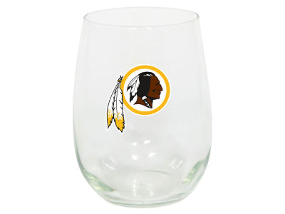 Washington Redskins Memory Company Stemless Wine Glass