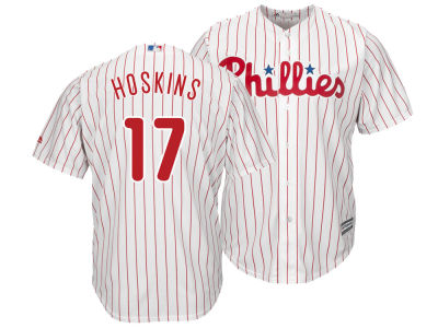 Philadelphia Phillies Rhys Hoskins Majestic MLB Men's Player Replica Cool Base Jersey
