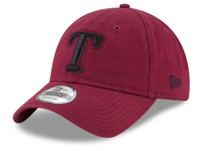 Texas Rangers New Era MLB Washed Car 9TWENTY Cap