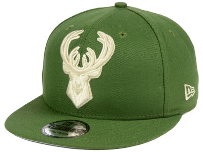 Milwaukee Bucks New Era NBA Fashion 9FIFTY Snapback Cap