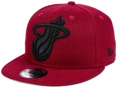 Miami Heat New Era NBA Fashion 9FIFTY Snapback Cap