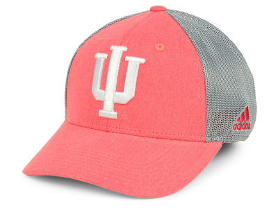 Indiana Hoosiers adidas NCAA Heathered Team Flex Cap