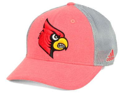 Louisville Cardinals adidas NCAA Heathered Team Flex Cap