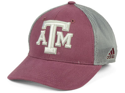 Texas A&M Aggies adidas NCAA Heathered Team Flex Cap