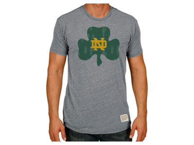 Notre Dame Fighting Irish Retro Brand NCAA Men's Retro Logo Tri-blend T-Shirt