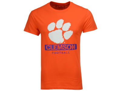 Clemson Tigers 2 for $28 NCAA Men's Football Stencil T-Shirt