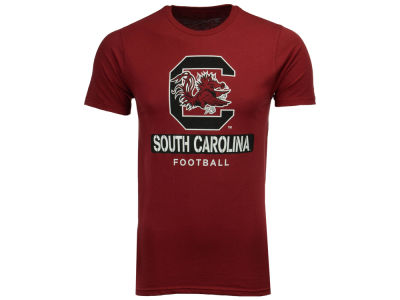 South Carolina Gamecocks 2 for $28 NCAA Men's Football Stencil T-Shirt