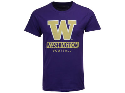 Washington Huskies The Victory NCAA Men's Football Stencil T-Shirt