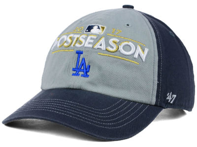 Los Angeles Dodgers '47 2017 MLB Post Season Locker Room Cap
