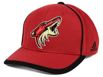 Arizona Coyotes adidas NHL Clipper Adjustable Cap