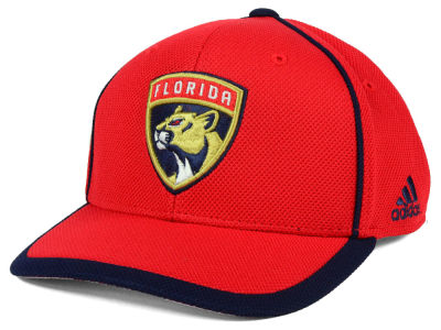 Florida Panthers adidas NHL Clipper Adjustable Cap