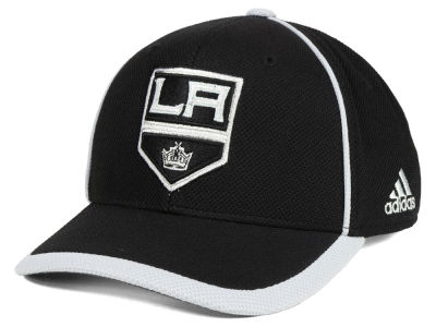 Los Angeles Kings adidas NHL Clipper Adjustable Cap
