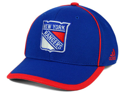 New York Rangers adidas NHL Clipper Adjustable Cap