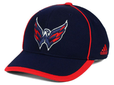 Washington Capitals adidas NHL Clipper Adjustable Cap