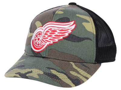 Detroit Red Wings adidas NHL Camo Trucker Cap