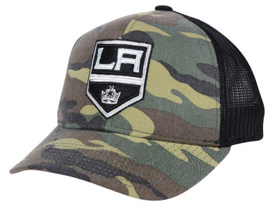 Los Angeles Kings adidas NHL Camo Trucker Cap