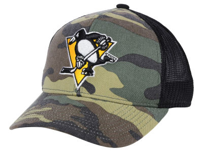 Pittsburgh Penguins adidas NHL Camo Trucker Cap