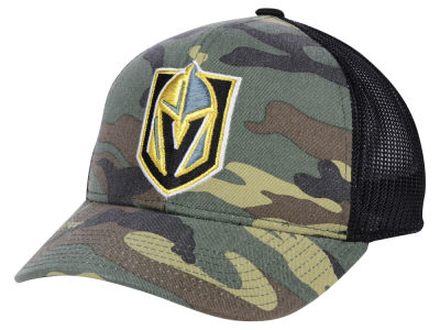 Vegas Golden Knights adidas NHL Camo Trucker Cap