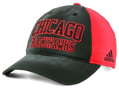 Chicago Blackhawks adidas NHL Sandblasted Slouch Cap b92dc657dfcc