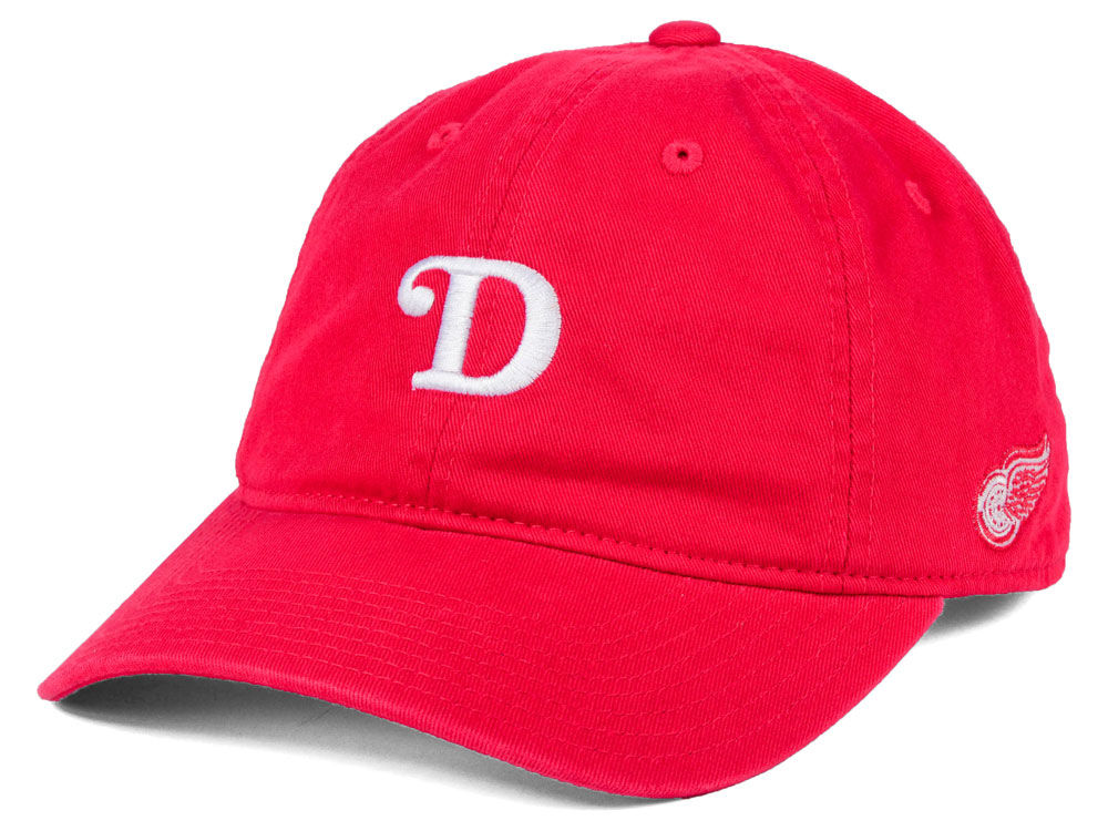 Detroit Red Wings adidas NHL Element Logo Adjustable Cap  af99a6420
