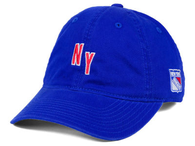 New York Rangers adidas NHL Element Logo Adjustable Cap