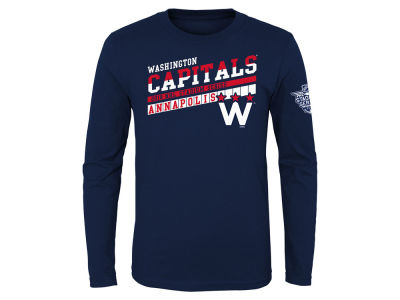 Washington Capitals Outerstuff NHL Youth On Board Long Sleeve T-Shirt