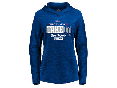 Los Angeles Dodgers Majestic 2017 MLB Women's Postseason Hoodie