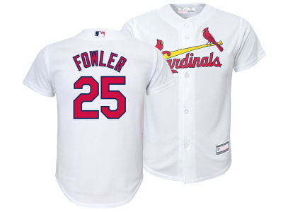 St. Louis Cardinals Dexter Fowler Majestic MLB Youth Player Replica Cool Base Jersey